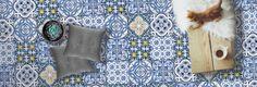 Fliesenaufkleber von creatisto - Fliesen verschönern ohne Kompromisse! Bathroom Inspiration, Home Decor, Round Round, Homes, House, Ideas, Decoration Home, Room Decor, Interior Decorating