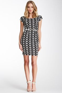 Floral Belted Dress by COCO & tashi on @HauteLook