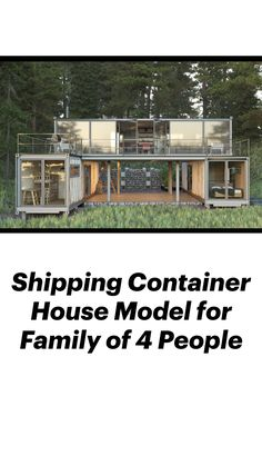 Cargo Container Homes, Shipping Container Home Designs, Shipping Container House Plans, Building A Container Home, Container Buildings, Container House Design, Tiny House Design, Modern House Design, Storage Container Homes