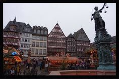 Frankfurt Marktplatz, as featured in this post about why you should travel with a group of friends today! http://wp.me/p55lln-te