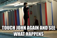 John is such a good sidekick to Sherlock. From the moment they met they both liked each other. Remember when the explosion happened, the first thing John thought about was Sherlock, even though that had just had an argument. Adorable :)