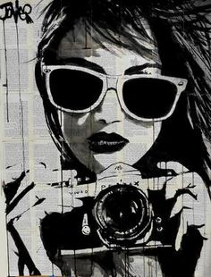 "Saatchi Art Artist Loui Jover; Drawing, ""shoot (SOLD)"" #art"