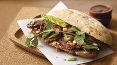 Recipes - Asian Pork Tenderloin Sandwich Cooking #Recipes #recipe #cook #food