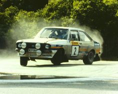 Ford Escort Mk2 Ari Vatanen Ford Rs, Car Ford, Ford Motorsport, Rally Raid, Classic Race Cars, Ford Escort, Car And Driver, Cars And Motorcycles, Cool Cars