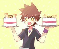 Birthday ( green is so luckily. Gary Oak, Green Pokemon, Pokemon Comics, Boy Character, Love Of My Life, Trainers, Blue Green, Pikachu, Manga