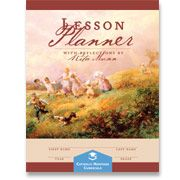 CHC Lesson Planner with Reflections by Rita Munn (BN-LPB) | Limited Quantity! - Catholic Heritage Curricula (ntm, very nice used 2012-2013, excellent price)