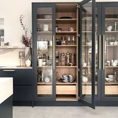 Our Kitchen Design and Moodboard Reveal! — Gold is a Neutral Kitchen Pantry Design, Kitchen Cabinetry, Modern Kitchen Design, Home Decor Kitchen, Kitchen Furniture, Kitchen Interior, Kitchen Storage, Kitchen Ideas, Kitchen Inspiration