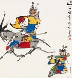 上海:著名画家张桂铭美术作品欣赏