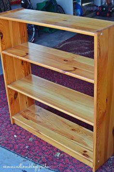 Minion, Chalk Paint, Bookcase, Shelves, Diy, Paint Ideas, Painting, Furniture, Vintage