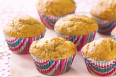 Treat the kids to a snack after-school with these cinnamon-spiced banana muffins.