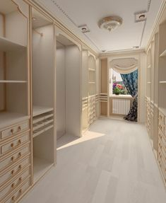 Beautiful luxury walk-in closet ideas for small and big house. Tags: luxury walk in closet, walk in closet ideas, walk in closet for small house, walk in closet for small room Walk In Closet Design, Closet Designs, Room Interior, Interior Design, Beautiful Closets, Master Bedroom Closet, Rich Girl Bedroom, Master Suite, Luxury Closet