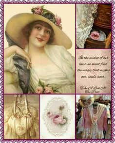 Dream Collage, Beautiful Collage, I Need A Hobby, Aesthetic Collage, Vintage Tins, Colour Board, Sweet Words, Shabby Chic Homes, Color Pallets