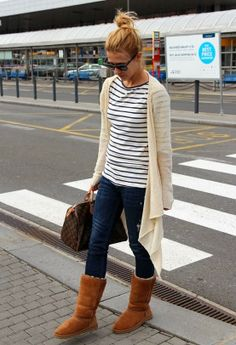 I don't like the duster or boots but I like the shirt and jeans.