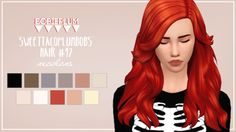 Hair #17bysweettacoplumbobs// recolored mesh is… – delight; – Sims 4 Updates -♦- Sims 4 Finds & Sims 4 Must Haves -♦- Free Sims 4 Downloads