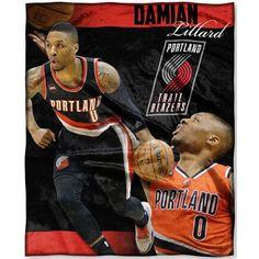 Northwest Co. NBA Trailblazers Damian Lillard Throw