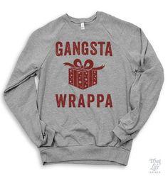 Gangsta Wrappa Sweater