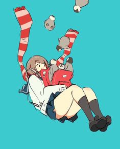 """ダイスケリチャード(22日イベント) on Twitter: """"南極の日らしいです… """" Aesthetic Drawing, Aesthetic Art, Pretty Drawings, Art Drawings, Anime Art Girl, Manga Art, Character Illustration, Illustration Art, Desu Desu"""