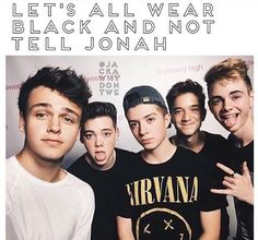 I all ways feel like Jonah is left out not just because of this picture but ❤️❤️❤️
