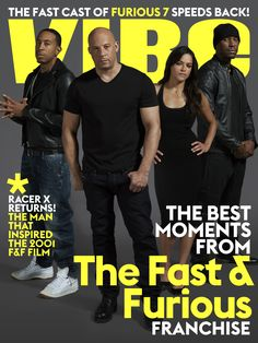 VIBE joins Ludacris, Vin Diesel, Michelle Rodriguez and Tyrese Gibson for a digital cover. Check out 10 of the best Fast & Furious movie moments & more here: http://www.vibe.com/2015/03/digital-cover-the-fast-cast-of-furious-7-speeds-back/
