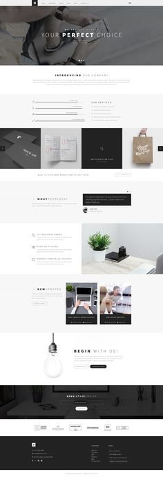 Heli - A Creative Multipurpose PSD Template Preview - ThemeForest