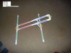 Homemade bike rack