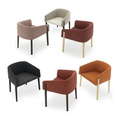 Shop SUITE NY for the Chesto dining chair by Patrick Norguet for DePadova Italy and other small modern armchairs and lounge furniture.