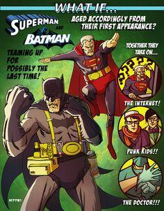 Aged super heros
