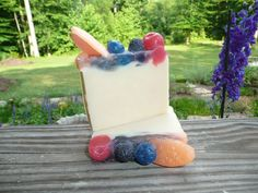 Handmade soap from The Enchanted Bath in Wayne County, West Virginia. #gift #coldprocess #soap #enchanted #handmade #product #giftsunder