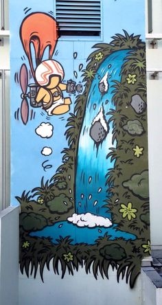gouzou 3d Street Art, Amazing Street Art, Street Artists, Banksy, Graffiti Art, Pablo Picasso, Photographie Street Art, Street Art Photography, Graffiti Characters