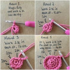 LoveCrochet | This week, Kate's step by step tutorial will show you how to create a very special first baby toy! There's something very special about that a toy that gets carried everywhere by a toddl