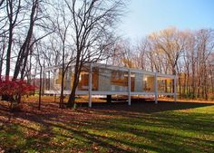 Дом Фарнсуорт (Farnsworth House) · Иван Григорьев · TARTLE.NET architecture&design