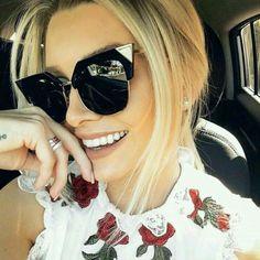 72b59f04661e Alloy Cat Eye Sunglasses Women Frame Glasses Sun 2017 Fashion Uv400 Mirror  Fashion 2017
