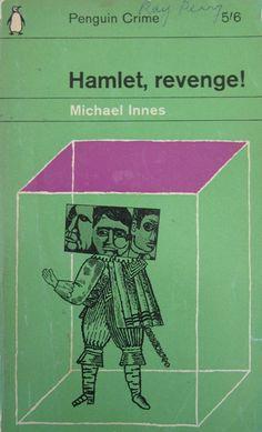 Hamlet, Revenge! by Michael Innes. Penguin 1640. Classic British Golden Age crime novel cover.