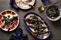 Roasted Sardines With Seaweed Salsa Verde Recipe
