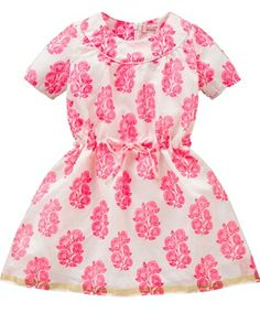 Room Seven Dorian Leaf Print Organza Dress from Room Seven - Holland at Pumpkinheads
