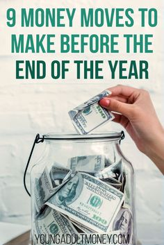 Don't let the year slip by - make these 9 money moves today. Make More Money, Ways To Save Money, Money Tips, Money Saving Tips, Money Hacks, Saving Money For Christmas, Budgeting Finances, Budgeting Tips, Finance Tips