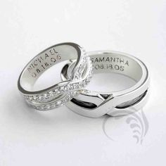 31 Best His And Hers Wedding Rings Images His Her Wedding Rings