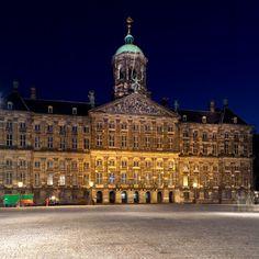 Royal Palace on Dam Square - Amsterdam, Netherlands