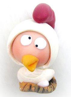 咕咕雞polymer  clay  doll