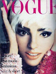Liza Minnelli, photo by Stephen Meisel, Vogue Italia, October 1990*