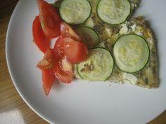 zucchini frittata - perfect for breakfast :)
