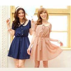 Cute dresses #ladyei #fashion #asian #clothing