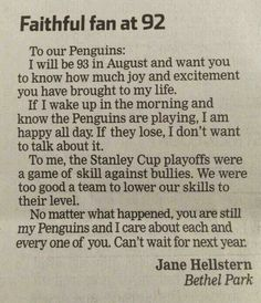Faithful fan at age 92 <3333