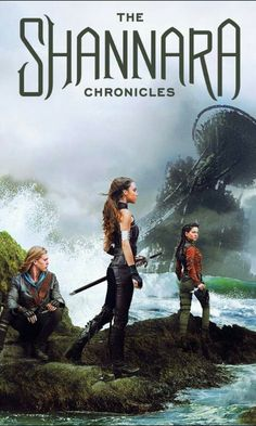 Just to clarify, I saw the first two episodes of this--and it's awful. Like if LOTR was mixed with Legend of the Seeker as a Young Adult novel...eugh