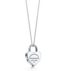 Tiffany and co Necklaces Return to Tiffany collection heart lock Outlet