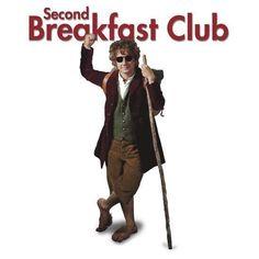 Hobbit Humor - I'm a charter member of the second breakfast club! Legolas, Le Hobbit Thorin, The Hobbit, Gandalf, Bilbo Baggins, Thranduil, Hobbit Dwarves, Tauriel, Aragorn