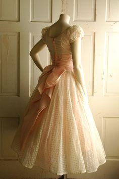 1950s tea dress!  elfsacks