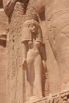 Abu-Simbel Temple, Egyptian queen Nefertari
