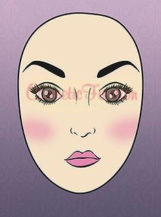 How to Apply Blush on Long/Oblong Face Shape