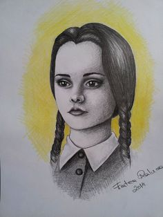 Wednesday Addams by RalucaFratea.deviantart.com on @DeviantArt